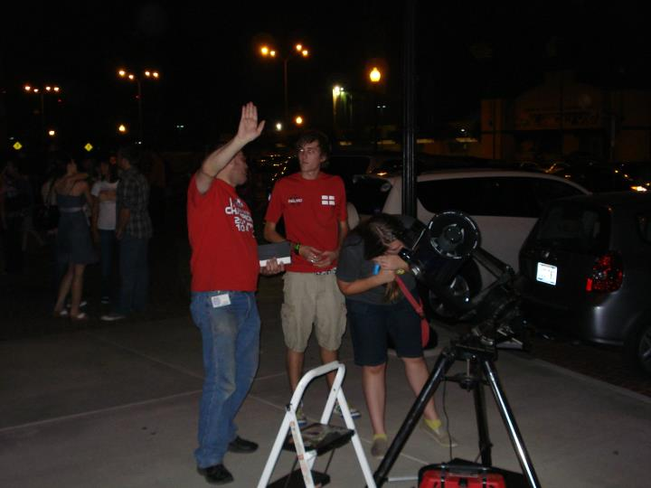 party star Amateur astronomy