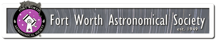 Membership - Fort Worth Astronomical Society