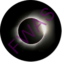 Total Solar Eclipse Observation Button