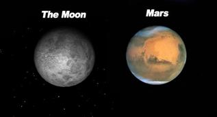 Mars as BIG as the Moon Hoax
